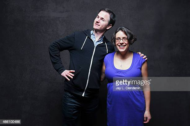 Ryan Fleck and Anna Boden from the film 'Mississippi Grind' pose for a portrait for the Los Angeles Times at the 2015 Sundance Film Festival on...