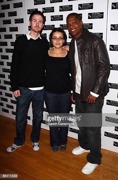 Ryan Fleck Anna Boden and Algenis Perez Soto arrive at the International Premiere of 'Sugar' during the BFI 52nd London Film Festival at the Odeon...