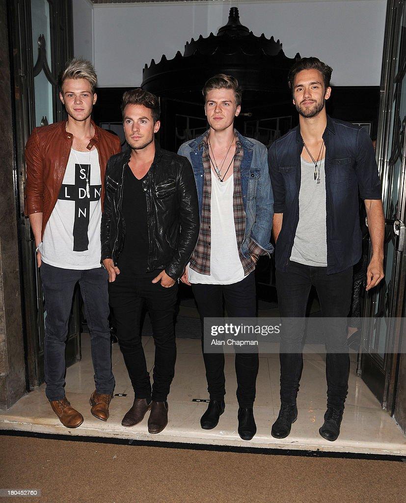 Celebrity Sightings In London - September 12, 2013