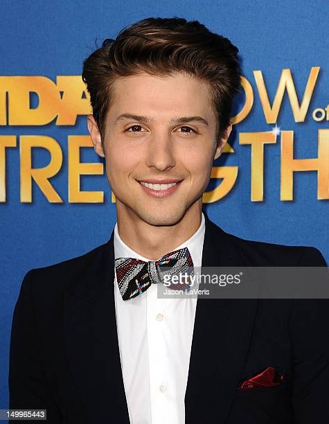 Ryan Follese of Hot Chelle Rae attends the MDA Labor Day Telethon at CBS Studios on August 7 2012 in Los Angeles California