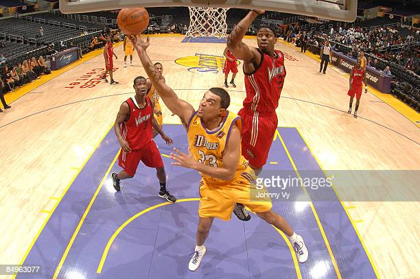 Ryan ForehanKelly of the Los Angeles DFenders puts up a shot during a game against the Rio Grande Valley Vipers at Staples Center on February 20 2009...