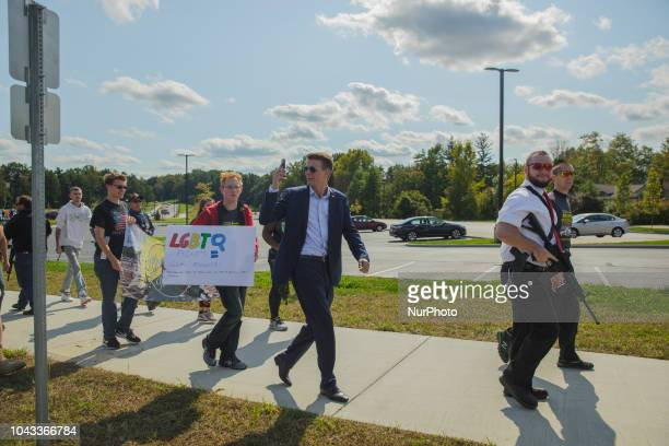 Ryan Fournier the chairman for Students for Trump marched with Kaitlin Bennett in the Open Carry RallyKaitlin Bennett a former student of Kent State...