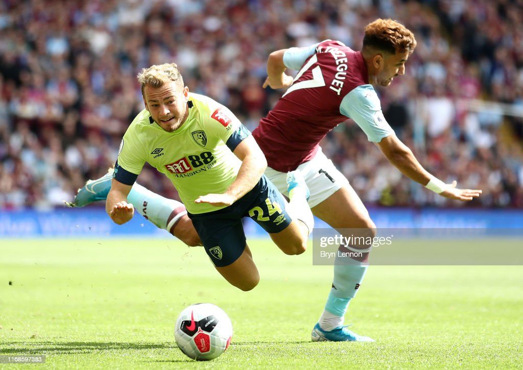 Aston Villa v AFC Bournemouth  - Premier League : News Photo