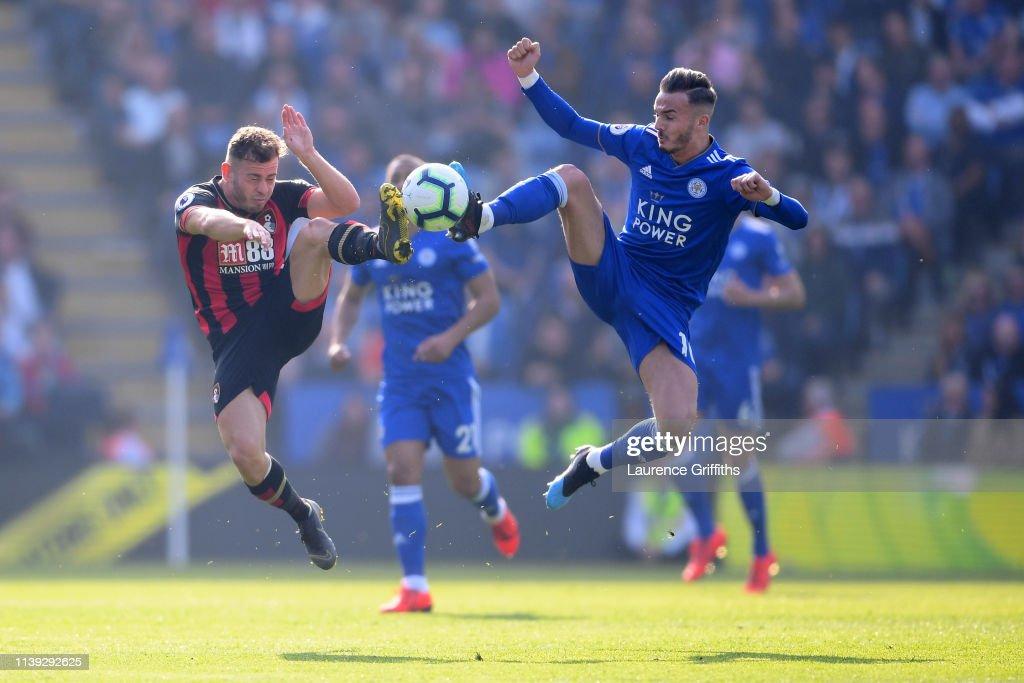 GBR: Leicester City v AFC Bournemouth - Premier League
