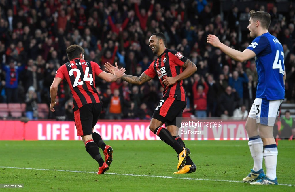 AFC Bournemouth v Everton - Premier League : Nachrichtenfoto