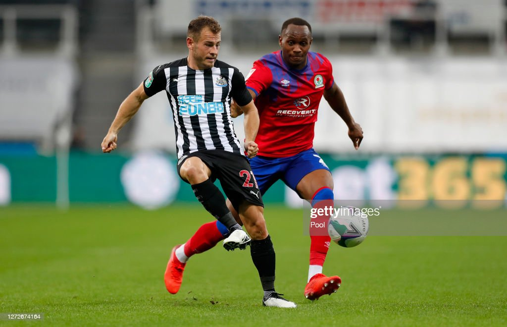 Newcastle United v Blackburn Rovers - Carabao Cup Second Round : News Photo