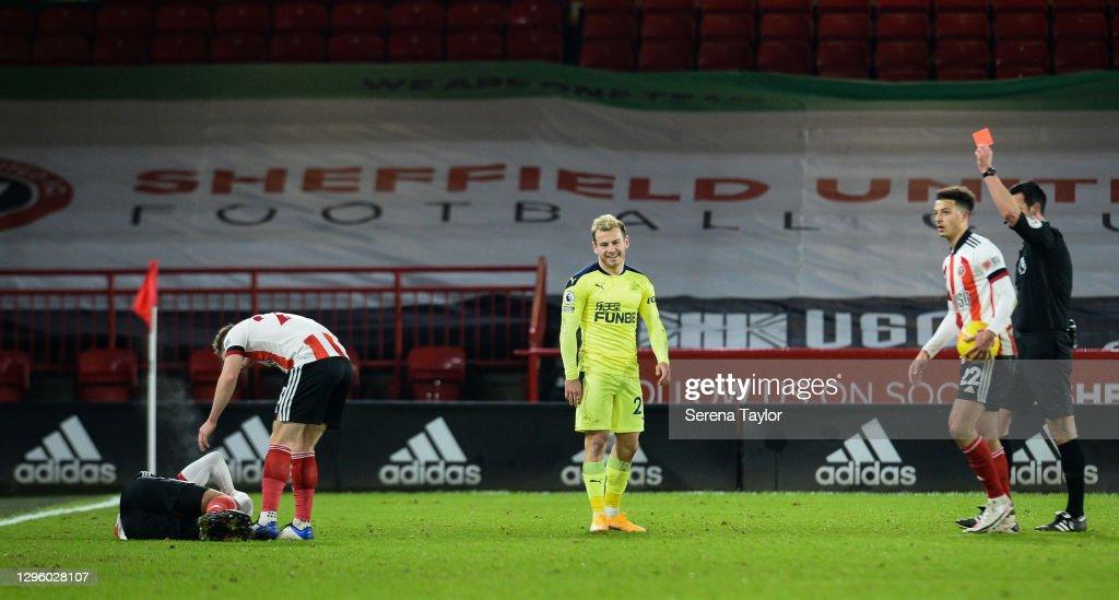 Sheffield United v Newcastle United - Premier League : ニュース写真