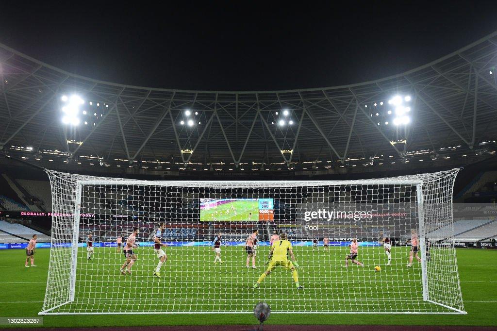 West Ham United v Sheffield United - Premier League : ニュース写真