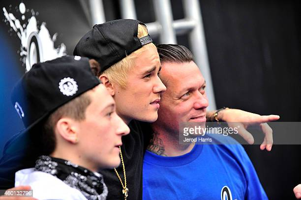 Ryan Friedlinghaus Jr Justin Bieber and West Coast Customs founder and CEO Ryan Friedlinghaus attend the Grand Opening of West Coast Customs Burbank...
