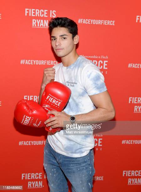 Ryan Garcia attends Abercrombie & Fitch Fierce Event with Ryan Garcia at 3rd Street Promenade on October 25, 2019 in Santa Monica, California.