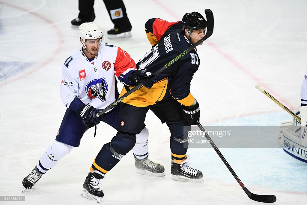 CHE: HC Lugano v HC Pilsen  - Champions Hockey League