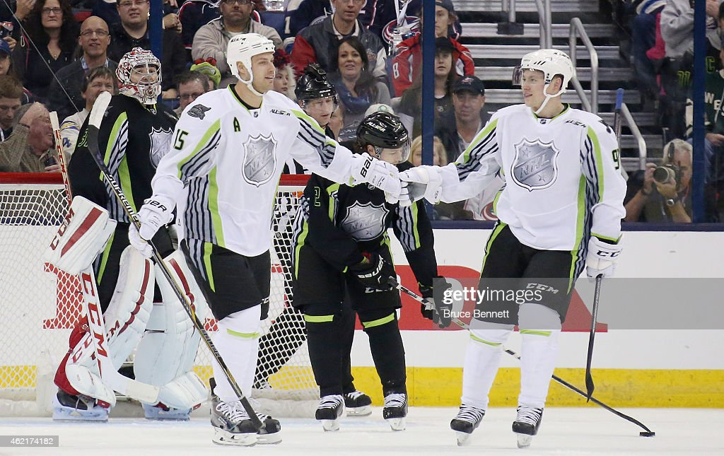 2015 Honda NHL All-Star Game : Photo d'actualité