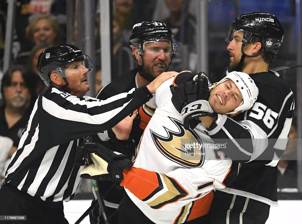 Anaheim Ducks v Los Angeles Kings : ニュース写真