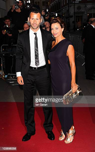 Ryan Giggs and Stacey Giggs arrive at the GQ Men of the Year Awards 2010 at the Royal Opera House on September 7 2010 in London England