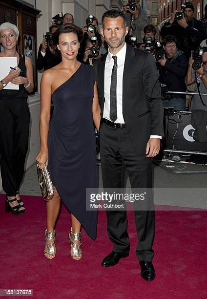 Ryan Giggs And Wife Stacey Arriving At The 2010 Gq Men Of The Year Awards At The Royal Opera House Covent Garden London