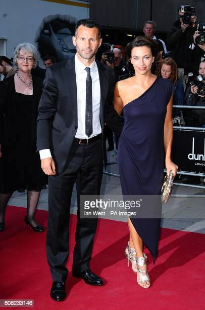 Ryan Giggs and wife Stacey at the 2010 GQ Men of the Year Awards at the Royal Opera House Covent Garden London