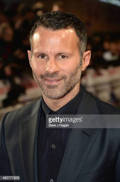 """Ryan Giggs attends the World premiere of """"The Class of 92"""" at Odeon West End on December 1, 2013 in London, England."""