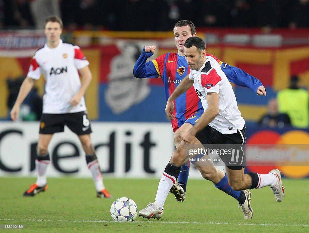 FC Basel 1893 v Manchester United FC - UEFA Champions League : News Photo