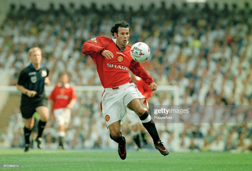 Ryan Giggs Of Manchester United In Action During The Fa Carling Premiership Match Between Tottenham Hotspur