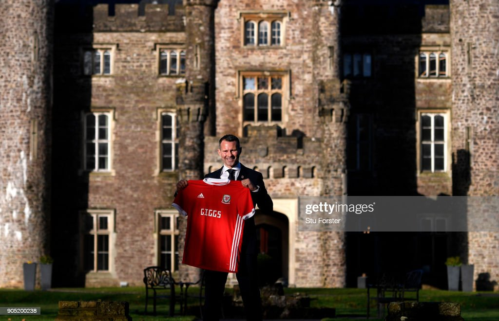 Wales Unveil New Manager : News Photo