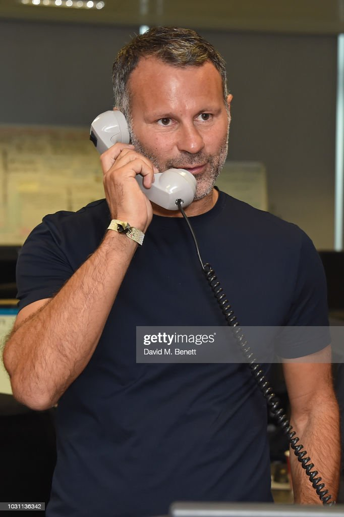 Ryan Giggs representing Make-a-Wish attends BGC Charity Day at One Churchill Place on September 11, 2018 in London, England.