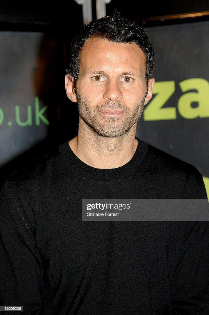 Ryan Giggs Signs Copies Of His New DVD 'True Red'