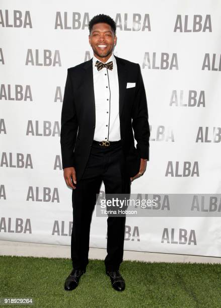 Ryan Gomes attends Jhoanna Alba's NBA All Star ALBA Women's Collection Mixer on February 15 2018 in Los Angeles California