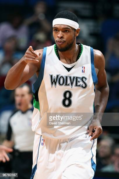Ryan Gomes of the Minnesota Timberwolves runs down the court during the game against the Los Angeles Clippers on January 29 2010 at the Target Center...