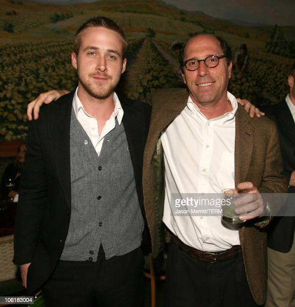Ryan Gosling and Charles Weinstock during Fracture Los Angeles Premiere After Party in Westwood California United States