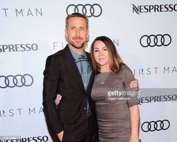 Ryan Gosling and Donna Gosling attend Audi Canada And Nespresso Host The PostScreening Event For First Man During The Toronto International Film...