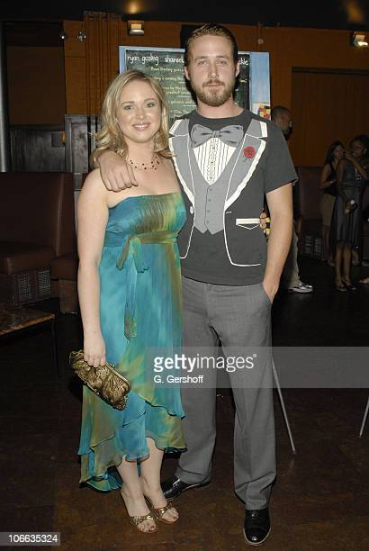 Ryan Gosling and sister Mandi Gosling