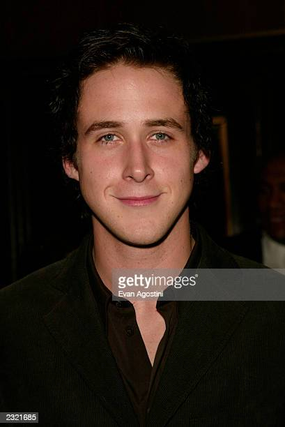 Ryan Gosling arriving at the Murder By Numbers film premiere at the Ziegfeld Theatre in New York City April 16 2002 Photo Evan Agostini/ImageDirect