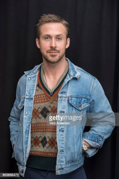 Ryan Gosling at the Blade Runner 2049 Press Conference at the Ritz Carlton Marriott Marquis Hotel on September 24 2017 in Los Angeles California