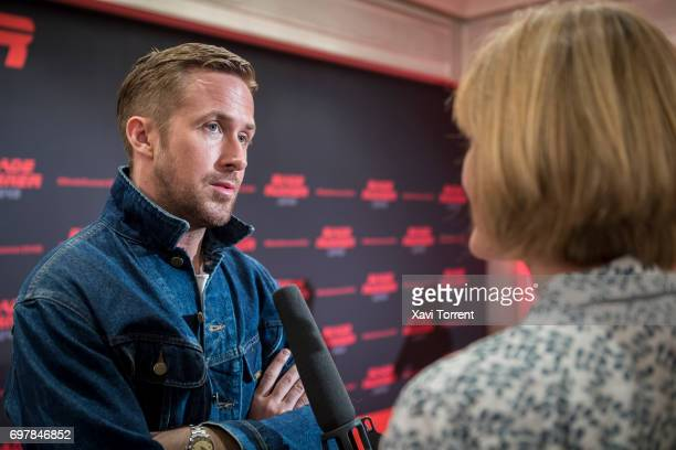 Ryan Gosling attends 'Blade Runner 2049' photocall at Arts Hotel on June 19 2017 in Barcelona Spain