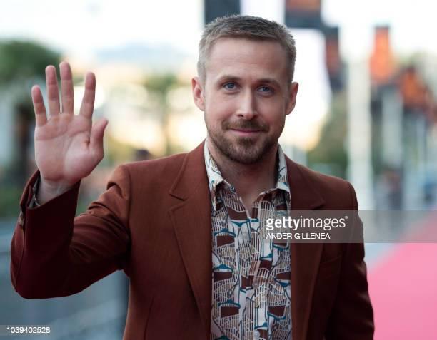 Ryan Gosling attends 'First Man' premiere during 66th San Sebastian Film Festival on September 24 2018 in San Sebastian Spain