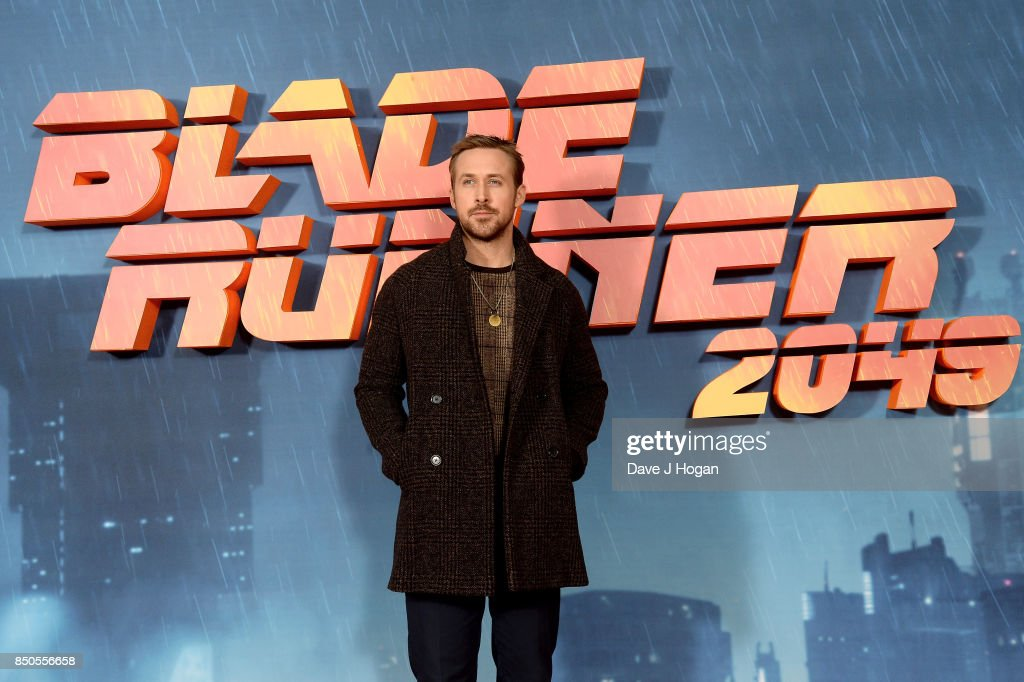 Ryan Gosling attends the 'Blade Runner 2049' photocall at The Corinthia Hotel on September 21, 2017 in London, England.