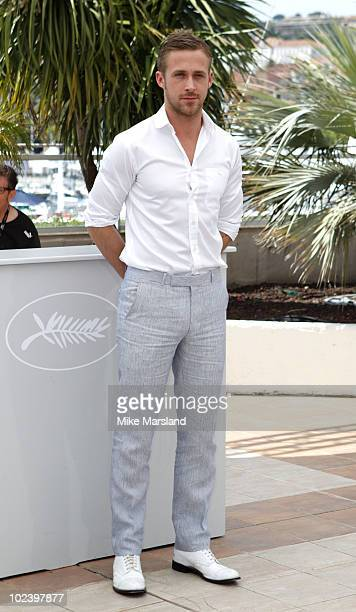 """Ryan Gosling attends the """"Blue Valentine"""" photo call held at the Palais des Festivals during the 63rd Annual International Cannes Film Festival on..."""