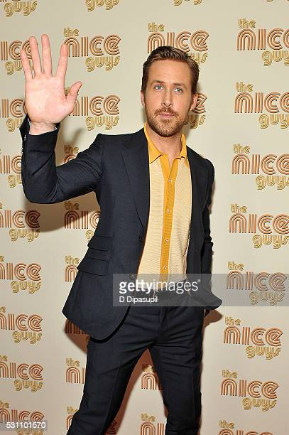 Ryan Gosling attends The Nice Guys New York screening at Metrograph on May 12 2016 in New York City