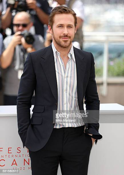 Ryan Gosling attends 'The Nice Guys ' Photocall at the annual 69th Cannes Film Festival at Palais des Festivals on May 15 2016 in Cannes France