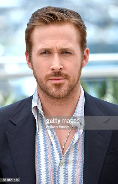 Ryan Gosling attends 'The Nice Guys' photocall during the 69th annual Cannes Film Festival at the Palais des Festivals on May 15 2016 in Cannes France