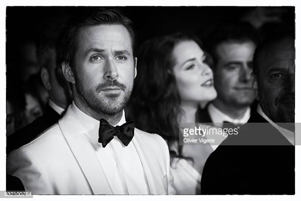"""Ryan Gosling attends """"The Nice Guys"""" Premiere during the 69th annual Cannes Film Festival on May, 15th 2016 in Cannes ."""