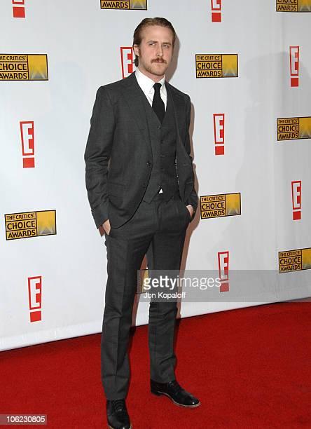 Ryan Gosling during 12th Annual Critics' Choice Awards Arrivals at Santa Monica Civic Auditorium in Santa Monica California United States