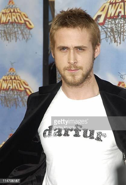 Ryan Gosling during 2005 MTV Movie Awards - Arrivals at Shrine Auditorium in Los Angeles, California, United States.
