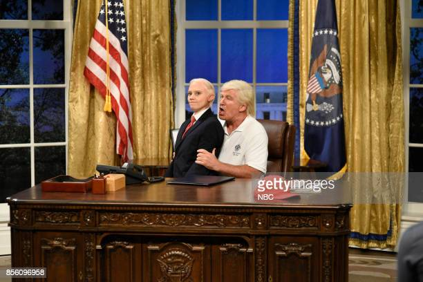 LIVE 'Ryan Gosling' Episode 1726 Pictured Kate McKinnon as Attorney General Jeff Sessions Alec Baldwin as President of the United States Donald Trump...