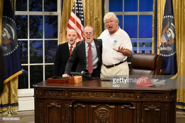 LIVE 'Ryan Gosling' Episode 1726 Pictured Kate McKinnon as Attorney General Jeff Sessions Alex Moffat as Senator Chuck Schumer Alec Baldwin as...
