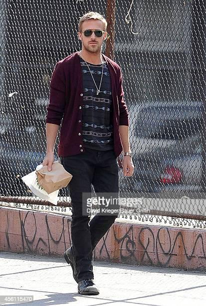 Ryan Gosling is seen on April 10 2012 in New York City