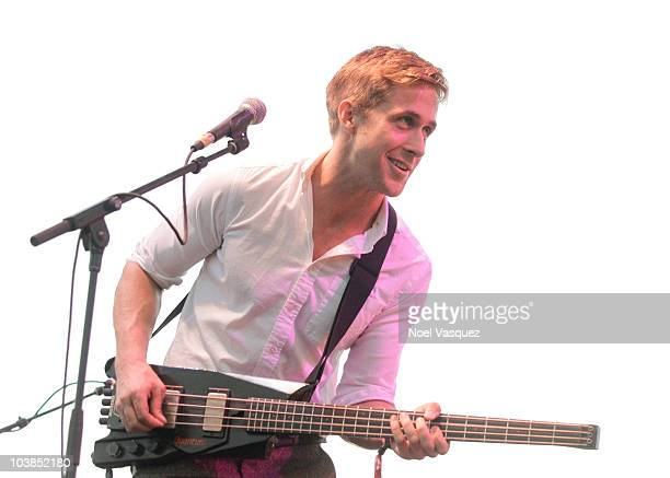 Ryan Gosling of Dead Man's Bones performs at FYF fest 2010 at Los Angeles State Historic Park on September 4 2010 in Los Angeles California