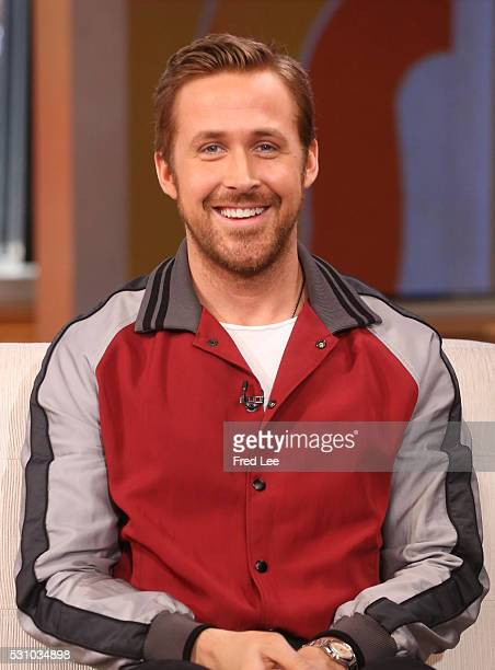 AMERICA Ryan Gosling visits GOOD MORNING AMERICA 5/12/16 airing on the Walt Disney Television via Getty Images Television Network RYAN