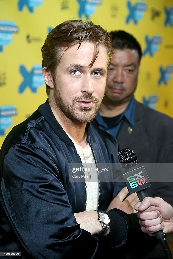 Ryan Gosling walks the red carpet at the premiere of his new film 'Lost River' at the Topfer Theater during the South by Southwest Film Festival on March 14, 2015 in Austin, Texas.