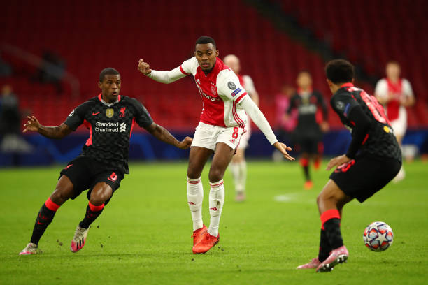 NLD: Ajax Amsterdam v Liverpool FC: Group D - UEFA Champions League